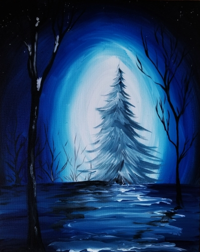 hey check out winter light ii at la pinata pittsburg paint nite