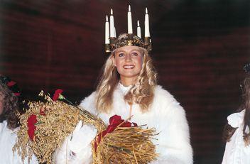 Dec 13 St. Lucia in Sweden