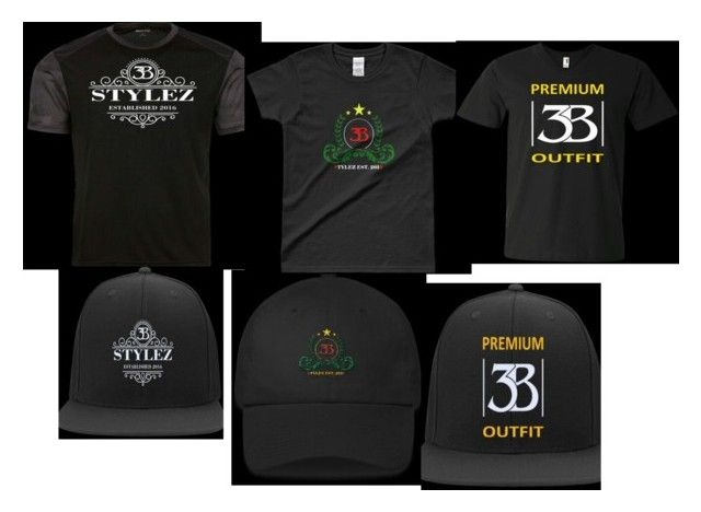"""""""Get your 3B Stylez Hat and Shirt set only at 3bstylez.com"""" by brian-bstylez on Polyvore"""