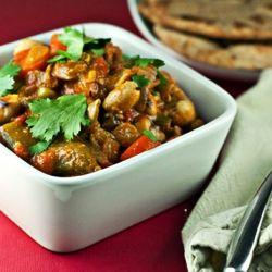 Mixed Veggie Korma....Vegan!