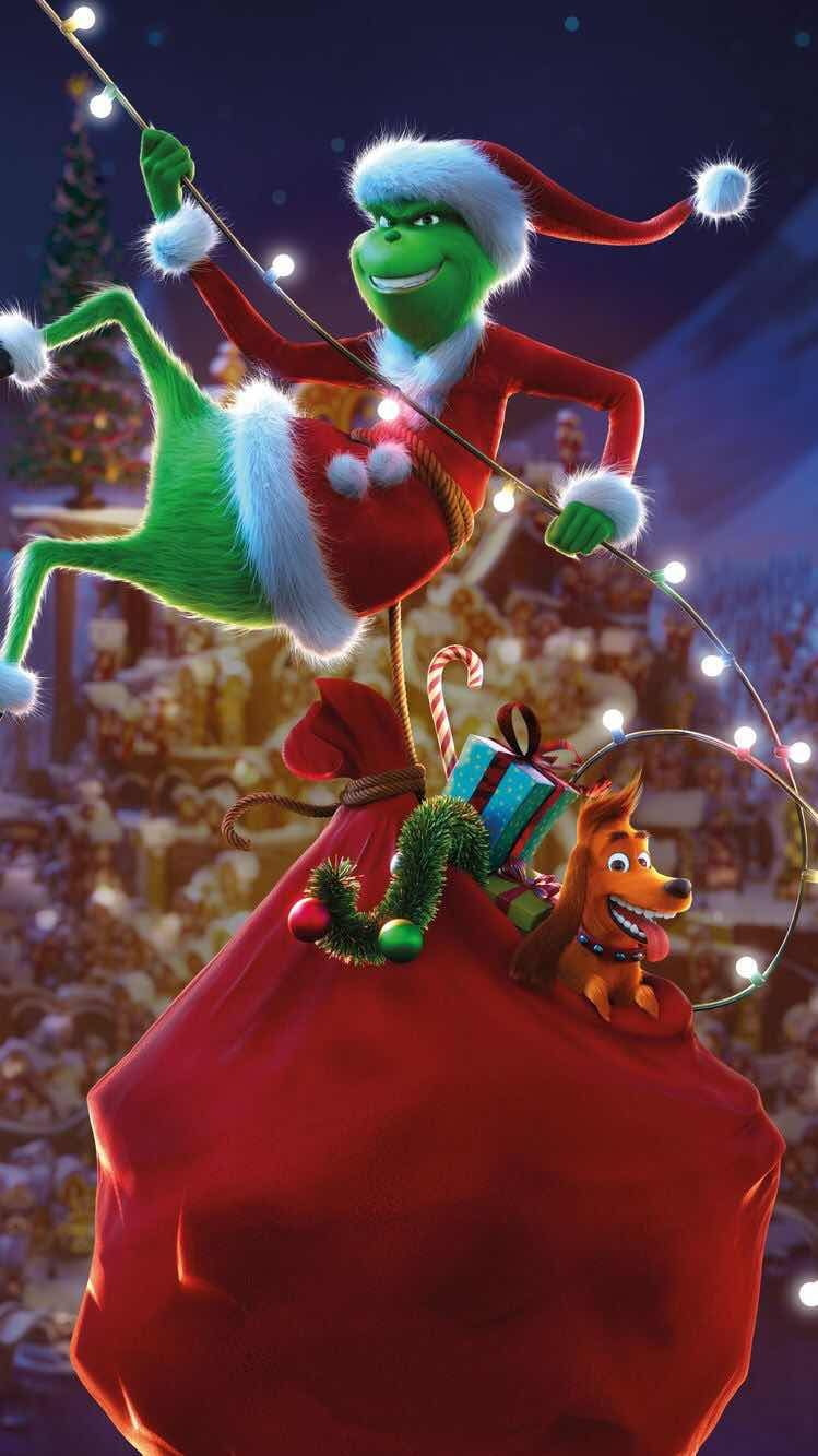 iPhone and Android Wallpapers The Grinch Christmas
