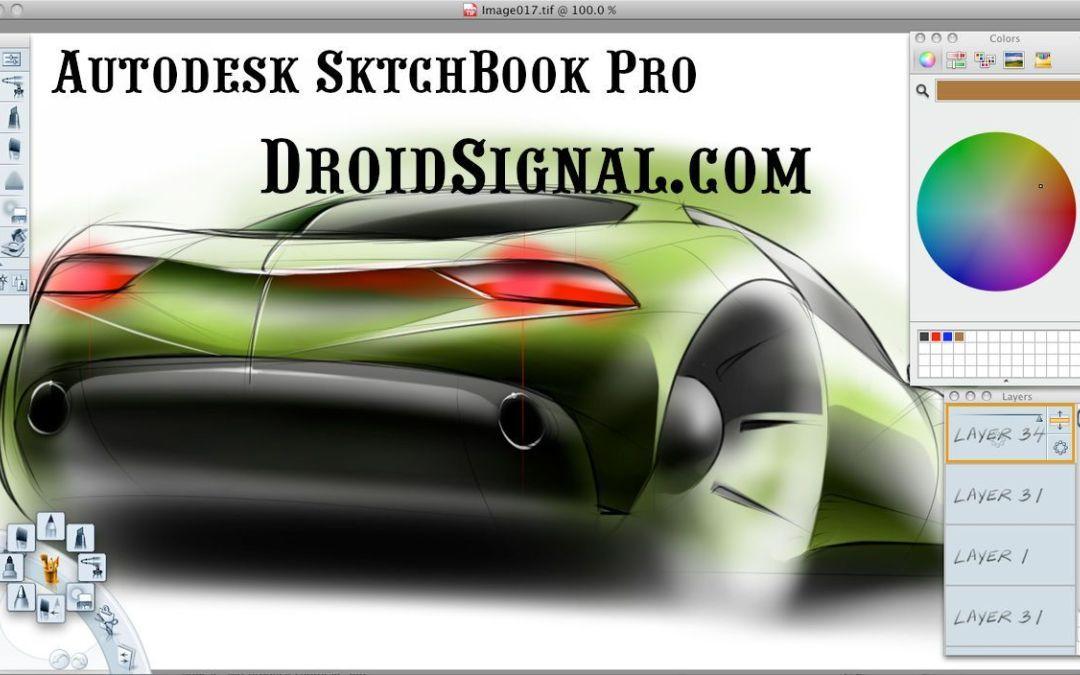 Autodesk Sketchbook Pro Mod Apk V5 2 2 Unlocked Version