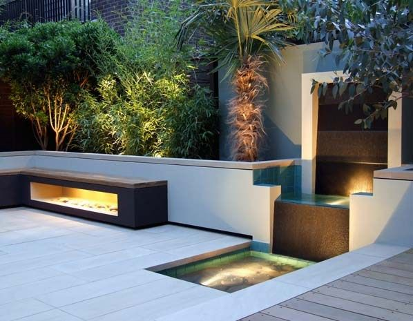 Garden Ideas 2014 Uk contemporary small garden design, creative yard landscaping ideas