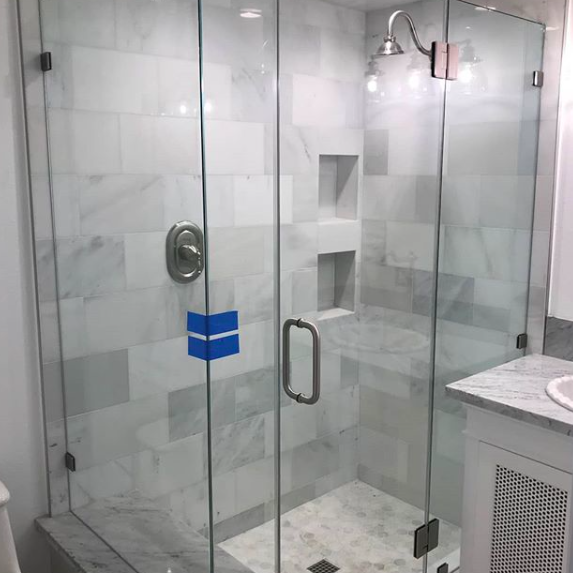 Shower Framelessglass Lagunahills Oc Orangecounty Remodel Bathroom