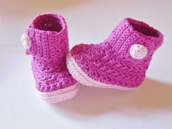Bildergebnis Für Babyschuhe Häkeln Anleitung Kostenlos Häkeln