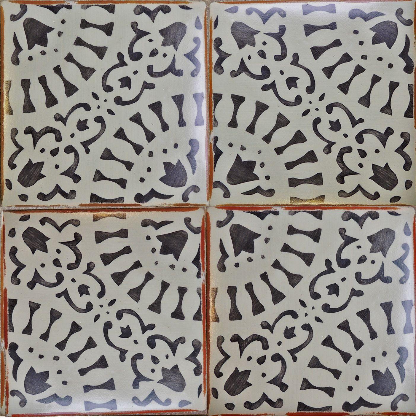 Robins Kitchen Garden City Tabarka Studio Artisan Tiles Paris Metro 14 In Charcoal On Robins