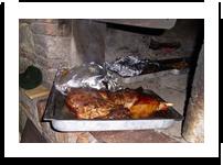 The genuine cuisine Podere Spedalone