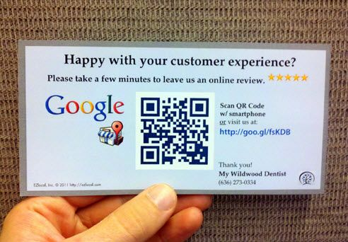Importance Of Google Reviews For Businesses Cascade Valley Designs Small Business Advertising Qr Code Business Card Coding