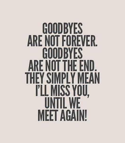 Saying Goodbye Poems 7