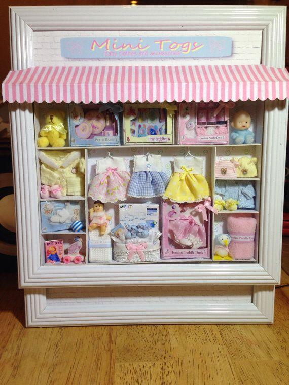 Maison de poupées miniature 1:12th échelle Bébés Blanc Table à langer