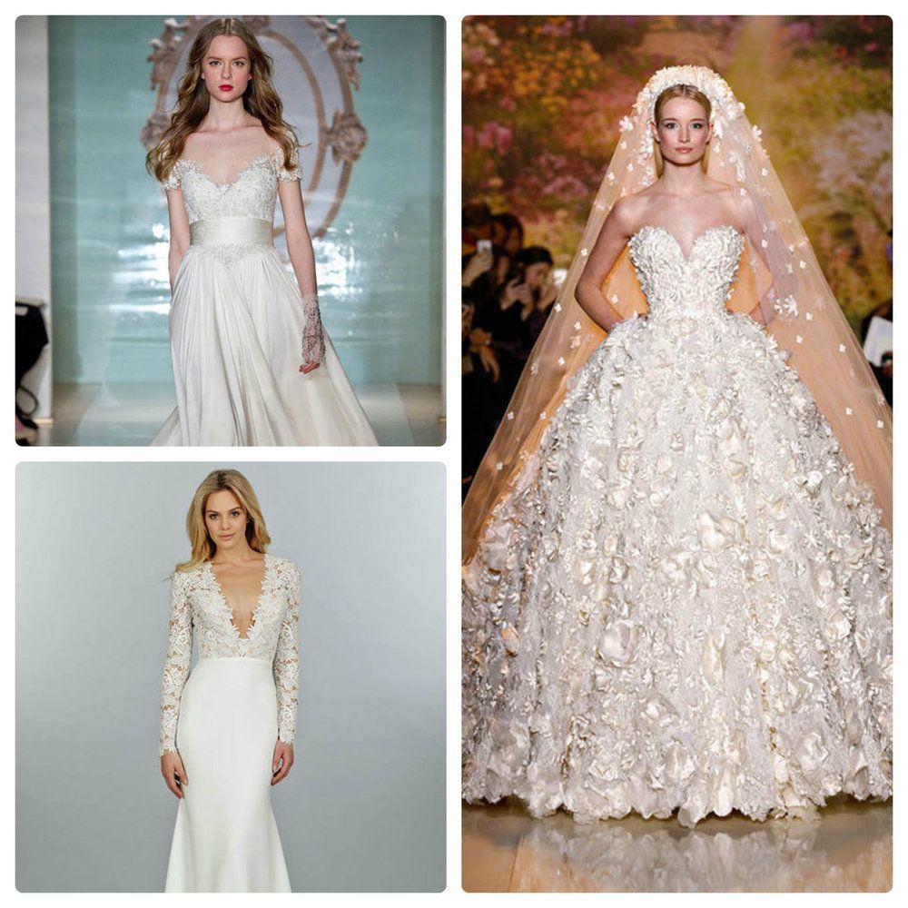 46 فستان زفاف من الماركات العالمية لعروس 2015 Dresses Wedding Dresses Lace Wedding Dresses