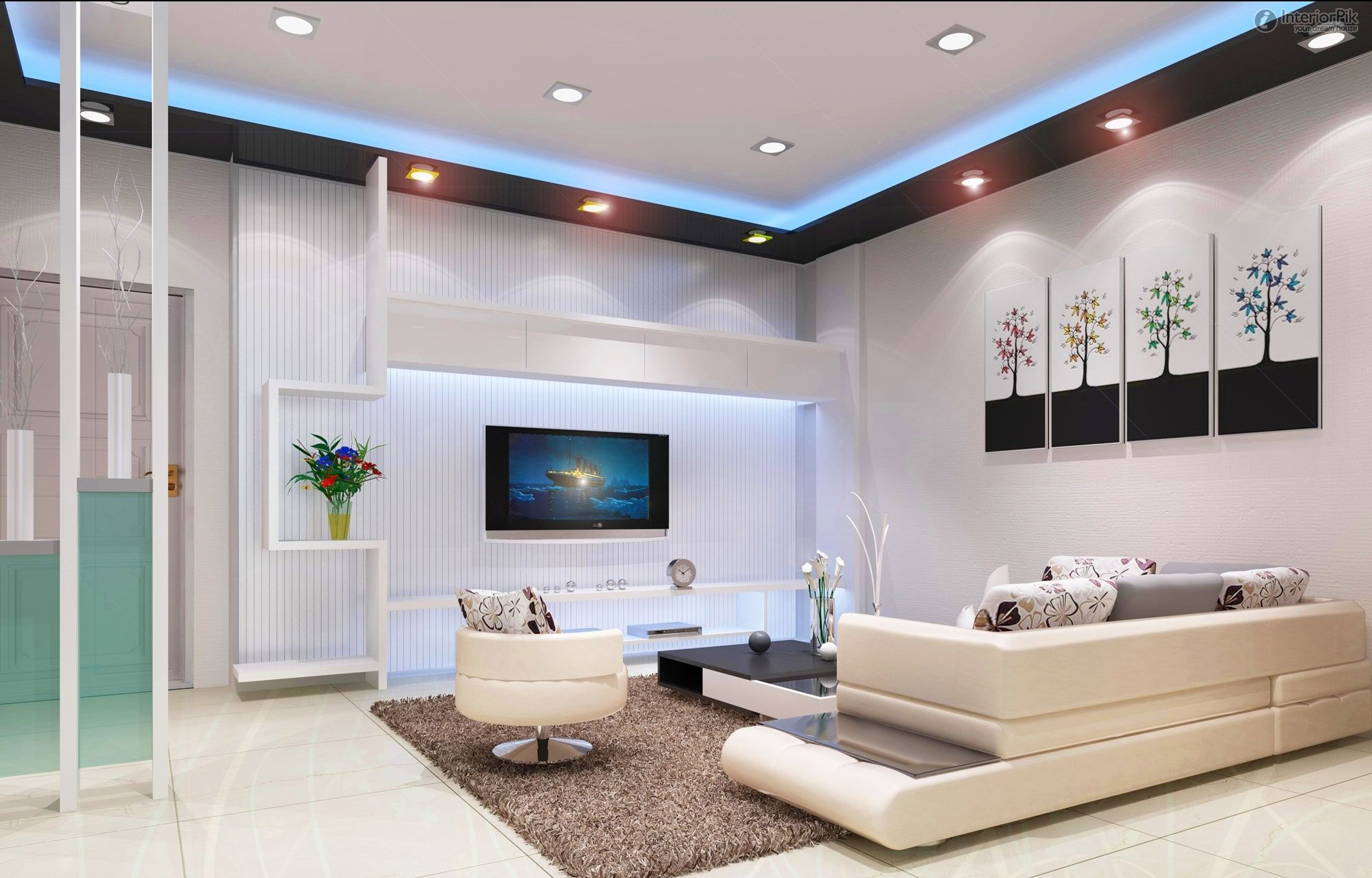 Beautiful Tv Decorations Living Room Part - 8: Three Bedroom And Two Living Room Minimalist TV | Visit Http://www.