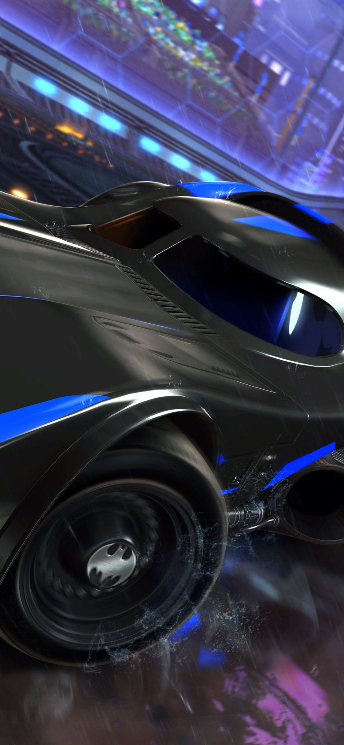 1125x2436 Batmobile Rocket League Dlc 4k Iphone Xs Iphone 10 Iphone X Hd 4k Wallpapers Images Backgrounds Ph In 2020 Rocket League Wallpaper Rocket League Batmobile
