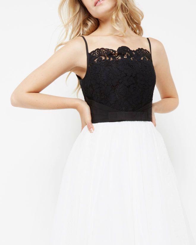 17540c601f0a Lace bodice tutu dress - Black