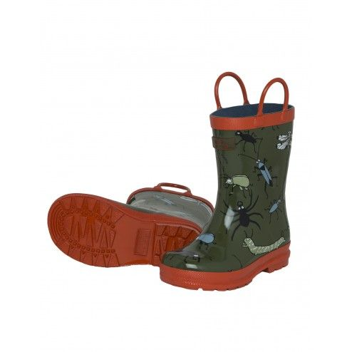 Hatley Fun Bugs Boys' Rainboots