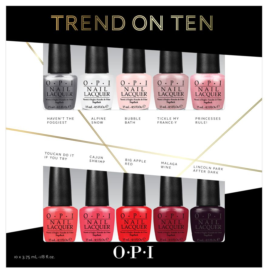 Opi Trend On Ten Mini Set