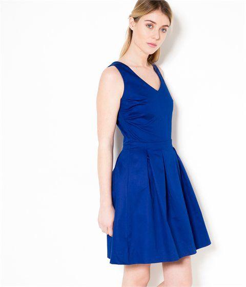 648e8fd6aa386a Robes femme Camaieu – robe unie ou fleurie, robes longue ou courte ...