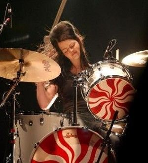 That Damn Drum Set Takes Up So Much Space I Should Learn To Play Them Meg WhiteDrum