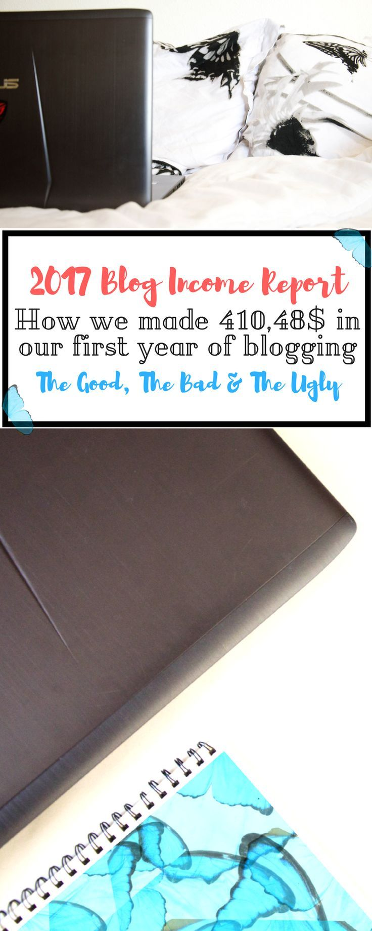 Over the last few months, we've shared with you our story of why we started and how we made money blogging. Today we want to share with you (with way too long overdue) the 2017 Blog Income Report, and we're sharing with you the changes that we've been through in the meantime, like always.