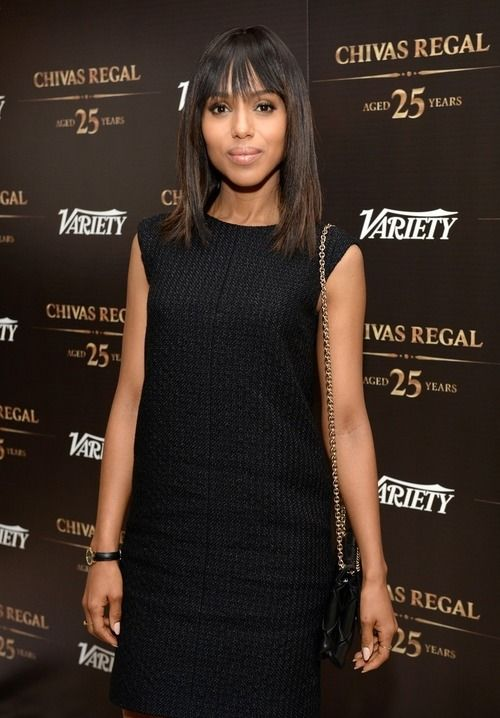 Kerry Washington on the Variety event Red carpet.