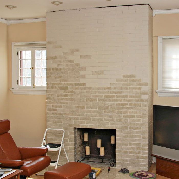 explore whitewash brick fireplaces and more
