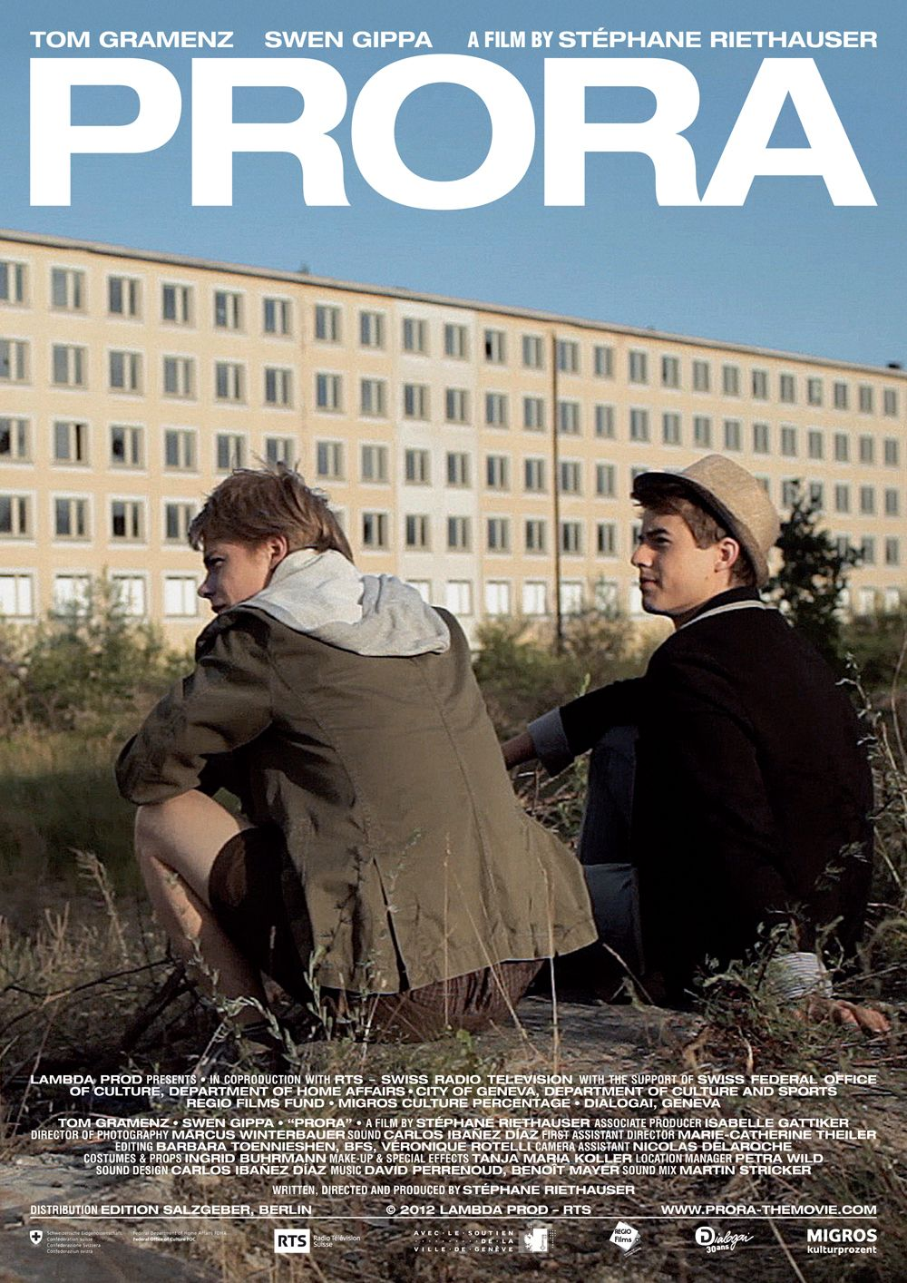 PRORA directed by Stéphane Riethauser #Outfest2012 #Shorts