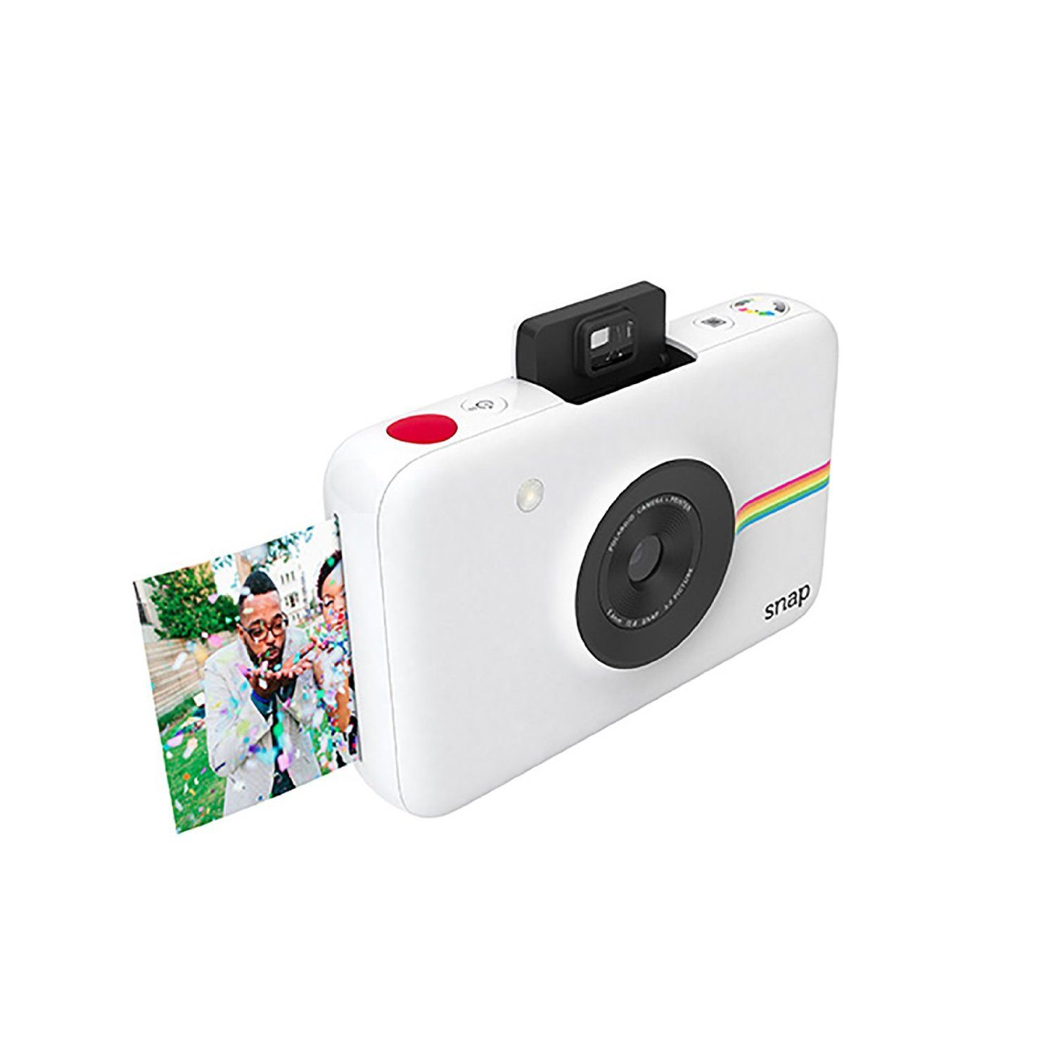 Polaroid Snap Instant Digital Camera (White) wih ZINK Zero Ink ...
