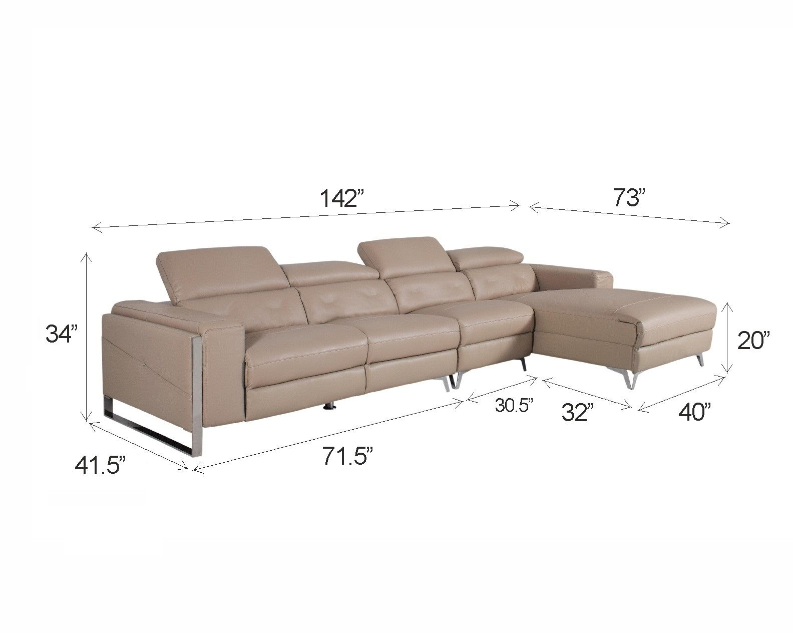 Furniturewalla Luxury Within Reach Vito Leather Sectional Sofa All Sofa Sets Sofas Living Leather Sectional Sofa Sectional Sofa Leather Sectional