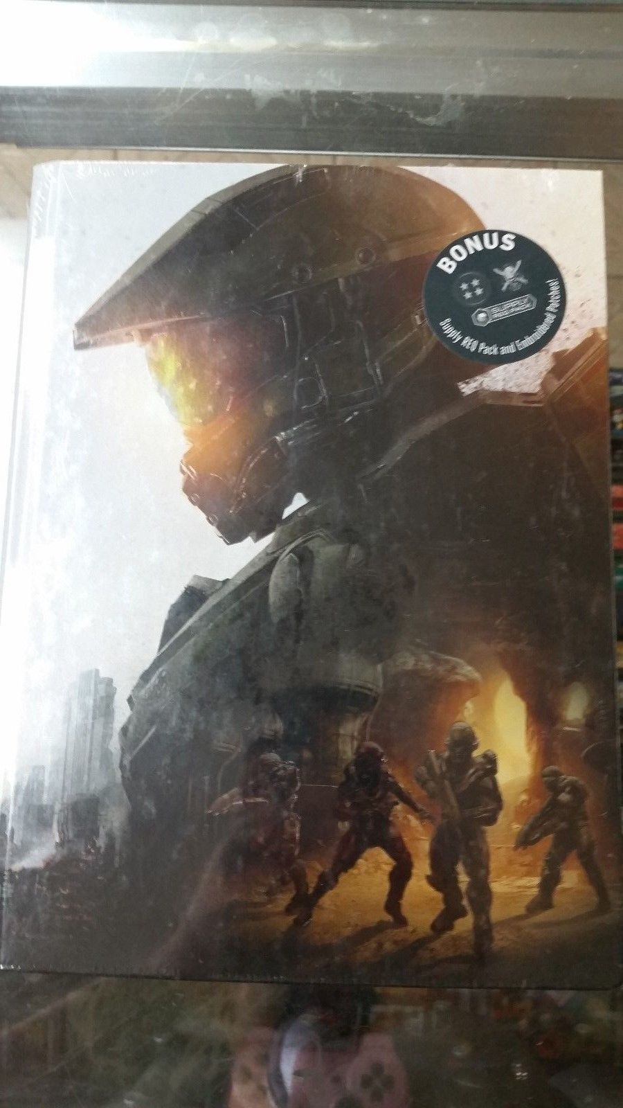 Strategy Guides And Cheats 156595 Halo 5 Guardians Collector S