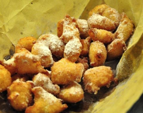 Frittelle di San Giuseppe for Father's day! Recipe