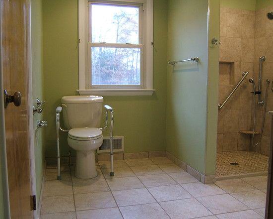 Handicap Accessible Bathroom   Handicap Renovation Ideas   Pinterest ...