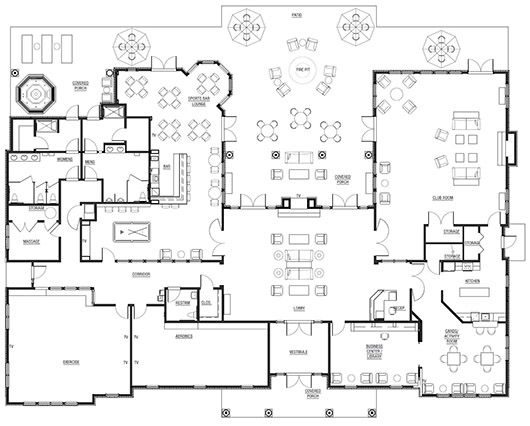 Traditions Of America At Bridle Path Clubhouse Floor Plan Club House Floor Plans Living Room Design Modern