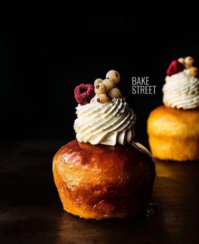 Baba au Rhum with Chantilly - Bake-Street.com