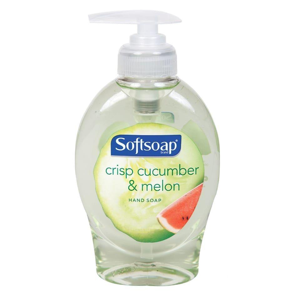 Softsoap Crisp Cucumber Melon Liquid Hand Soap 5 5 Oz Liquid