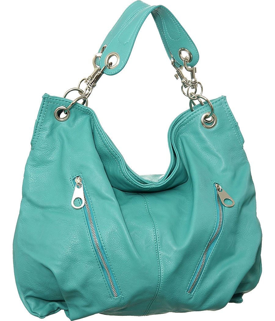 Purse Boutique: Turquoise Extra-Large Georgina Hobo Handbag ...