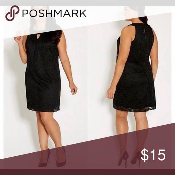 Black lace dress Never worn smoke free Maurices Dresses