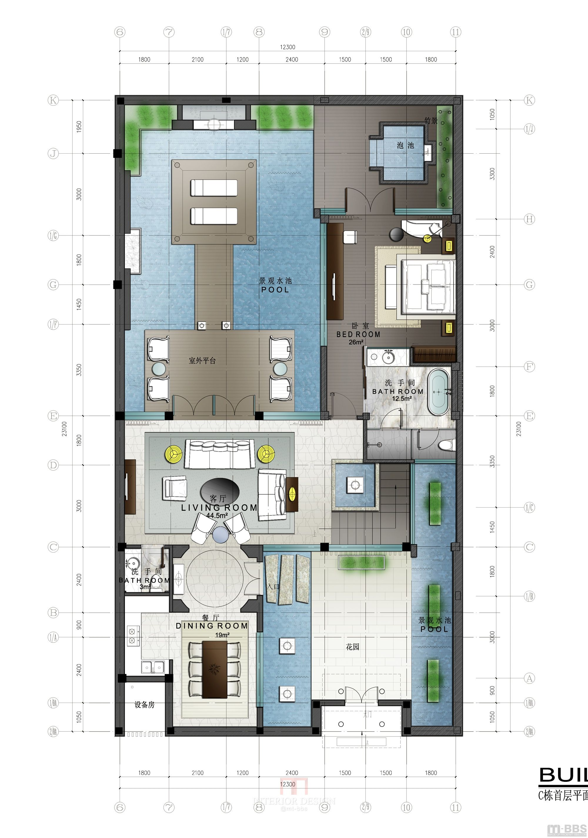 Pool Surrounding Patio Home Design Floor Plans Pool House Plans Floor Plan Design
