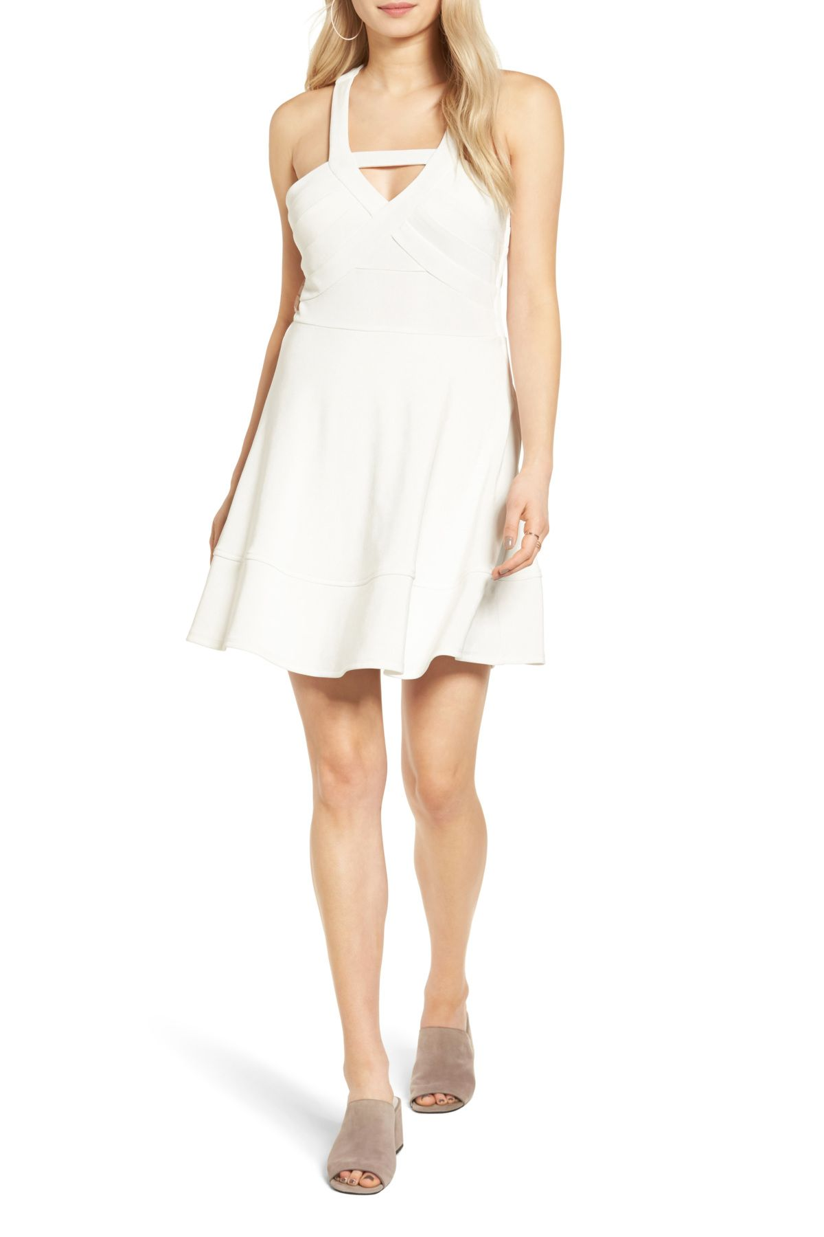 Love nickie lew strappy skater dress products
