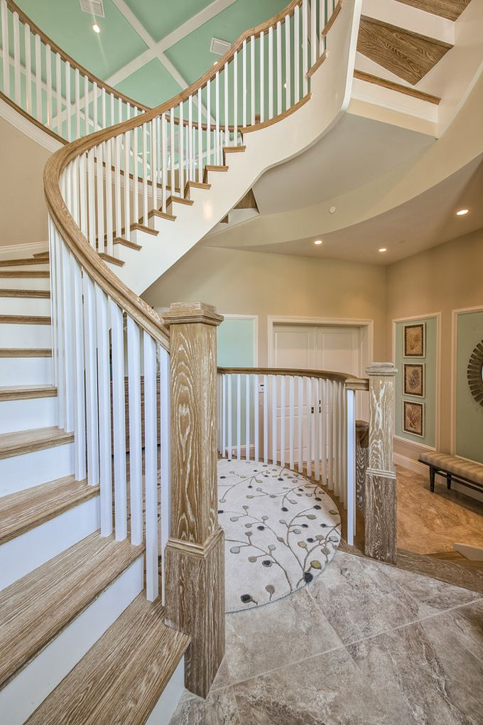 Stairway + Foyer | Calusa Construction