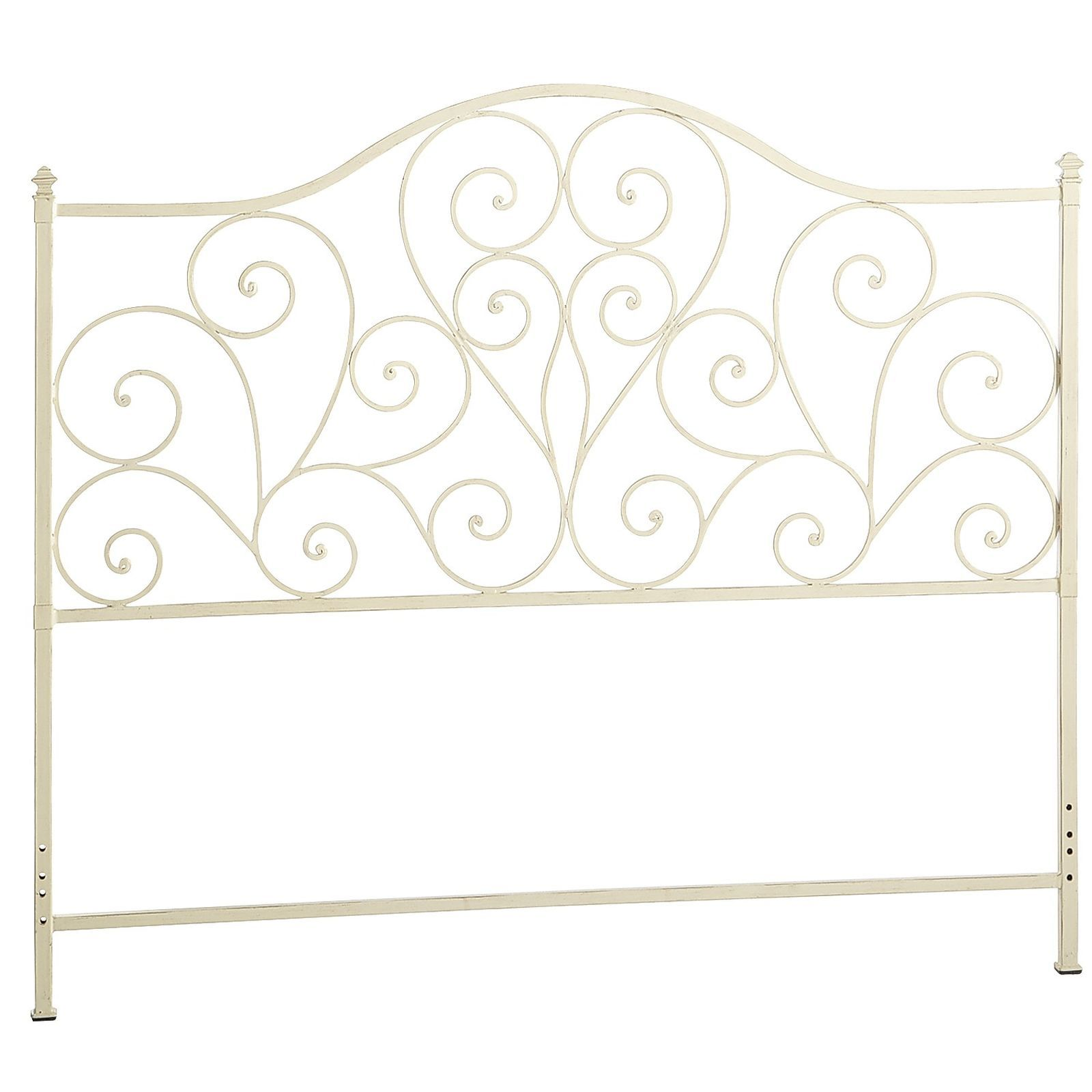 Scroll Queen Headboard Antique White Pier 1 Imports White
