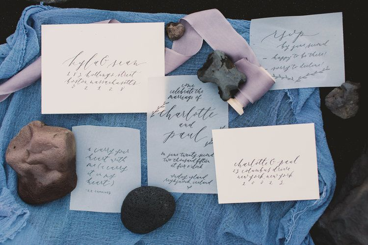Olive Branch & Co Calligraphy Wedding Suite - Renee Hollingshead Photography - Venice