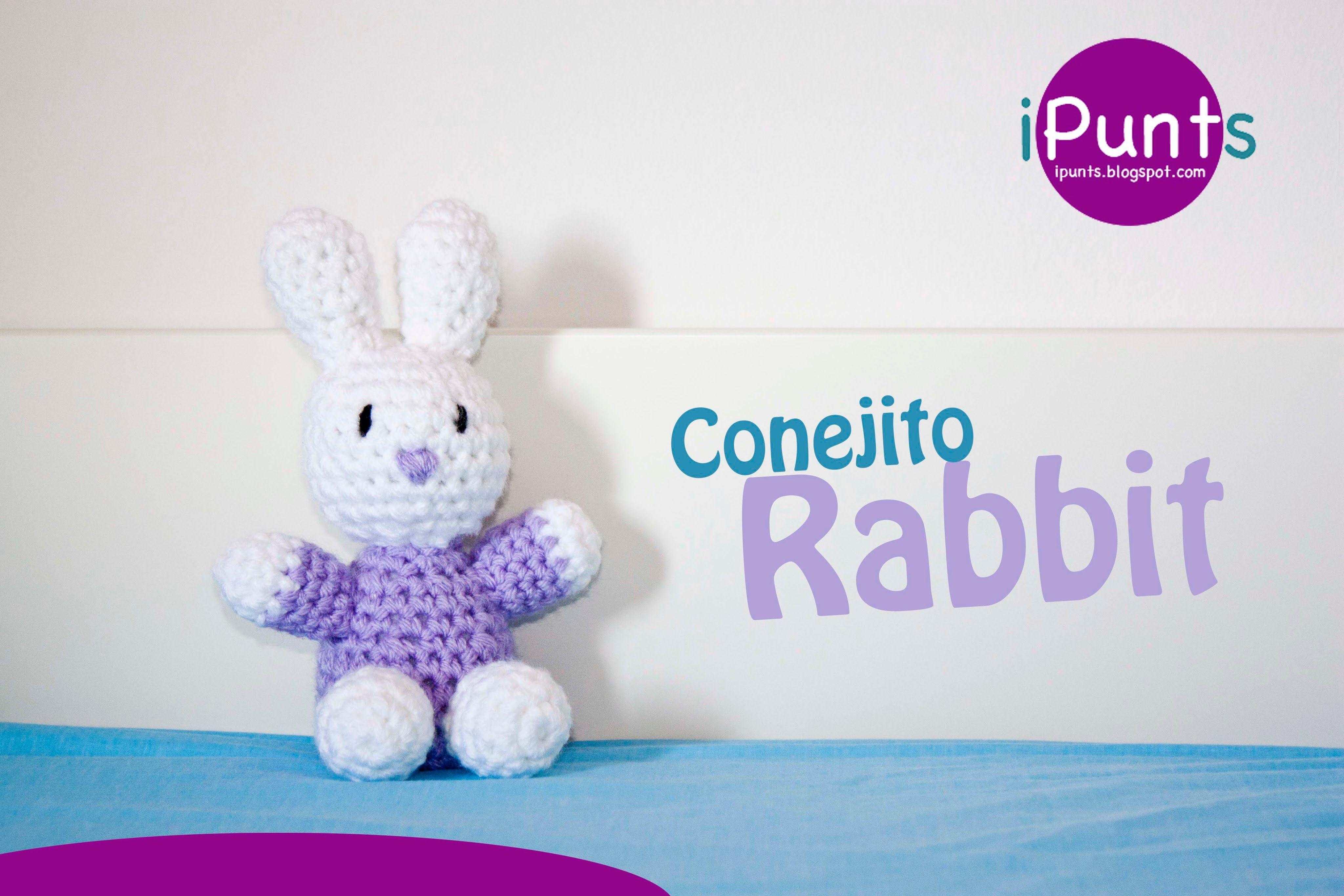 Amigurumis: Conejo Rabbit paso a paso crochet | Cosas para ponerme ...