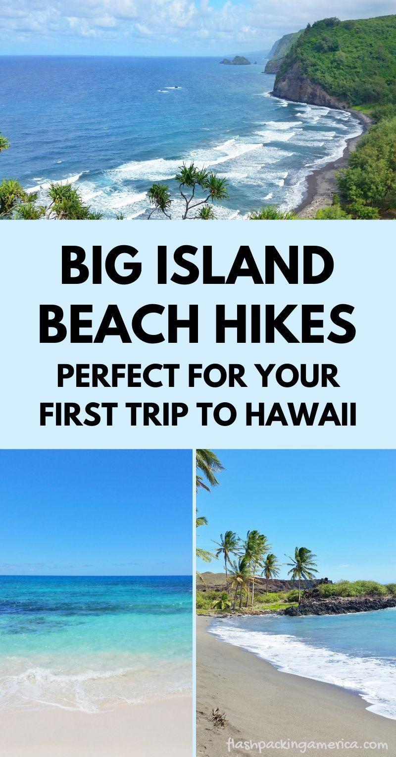 Best beach hikes in Hawaii on the Big Island 🌴 Hawaii travel blog