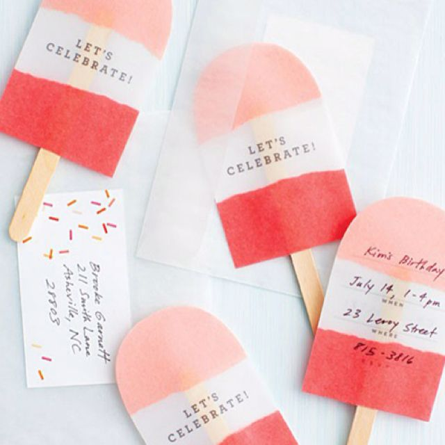 Clever Party Invitations or really cute gift tags – Clever Party Invitations