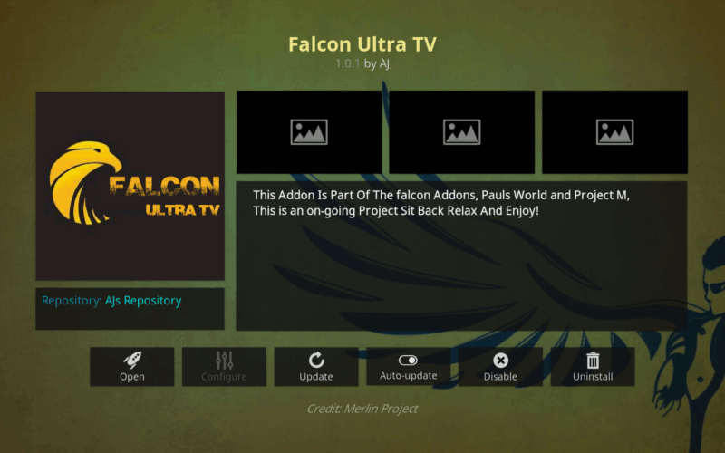 How To Install Falcon Ultra Tv Addon On Kodi Krypton Kodi