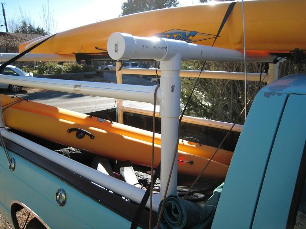 Pin By Mitchell Tremblay On Pvc Kayak Roof Rack Kayak
