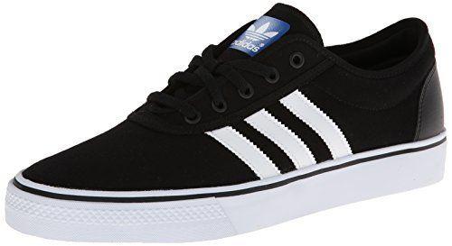 adidas Originals Men's Adi-Ease Skate Shoe,Black/White/Black,9