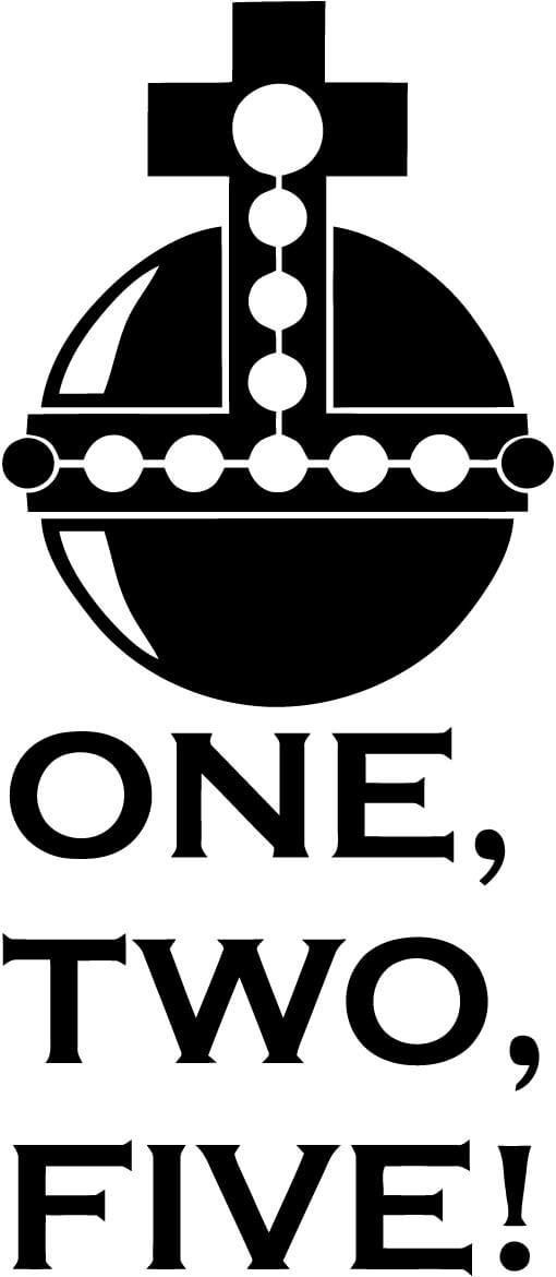 Holy Hand Grenade Of Antioch One Two Five Monty Python Car Window Decal Sticker Monty Python Monty Python Holy Grail Hand Grenade