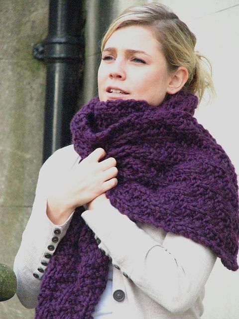 Chunky Mock Cable Scarf By Alex Lawson Stitches Pinterest