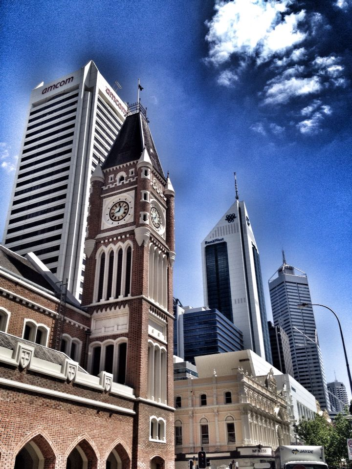 Old and the new, Perth